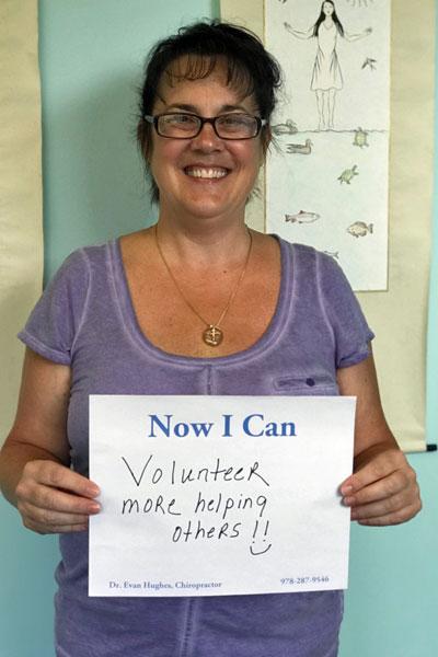 Volunteer More